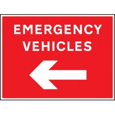 Emergency Vehicles Arrow Left