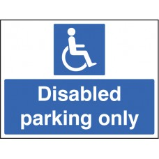 Disabled Parking Only