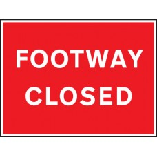 Footway Closed