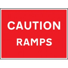 Caution - Ramps