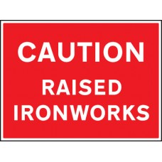 Caution - Raised Ironworks