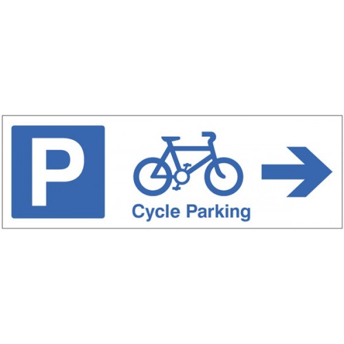 Cycle Parking - Arrow Right