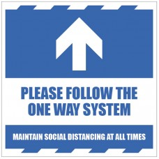 Arrow Up - Follow the One Way System