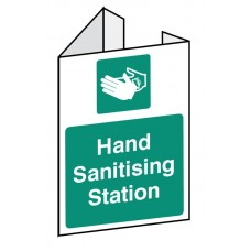 Hand Sanitising Station - Projecting Sign